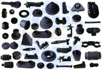 Custom molded rubber parts for snowmobile