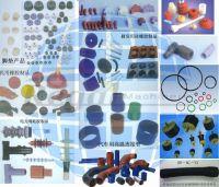 excavator rubber parts