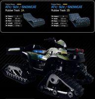 SUV rubber track conversion system kits