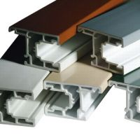 Extrusion Colorful PVC Profile
