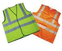 economy EN20471 high visibility reflective safety vest