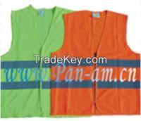 economy EN471 high visibility reflective safety vest