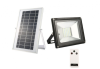 20W Solar flood light 40 LED white light waterproof IP65 rechargeable energy light with remote control