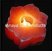 Himalayan Salt Tea Lights/ Rock Salt Tea Light Holders/ Natural Salt Tea Light