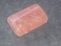 Natural bath salt soaps and massagers