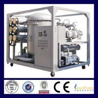 ZJA Two-Stage High Efficiency Vacuum Oil Purifier Series for Transformer Oil