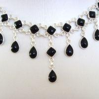 Red Onyx Necklace Valentina