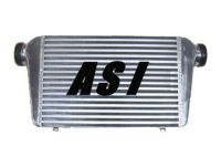 tube and fin, bar and plate, delta fin intercooler