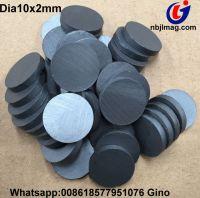ferrite disc magnet dia10x2mm, Y30 magnet