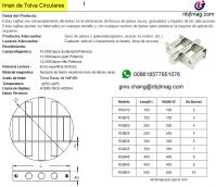 grate magnet with defelctor(iman de tolva neodimio) 10.000gs