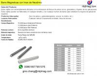 Magnetic Separator Rod(tubos magneticas) 10000Gauss