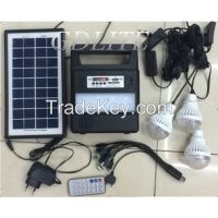 Sale good Gdlite solar lighting power system protable GD-8006 for indoor and outdoor