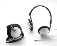 Folding Behind Head Headphones
