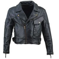Leather Gun Jacket