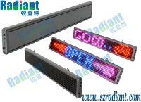 Indoor led tri-color led moving sign