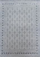 Best selling grey Herati wool viscose carpets for home & offices