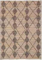 Semi Bleach Hand Woven Jute Loop Rugs & Carpets
