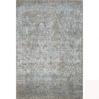 Indian Wool Bamboo Silk Rugs For Living Room