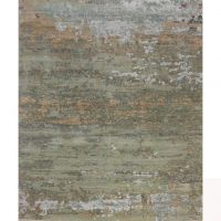 Floral Design Beautiful Viscose Oxidized Wool Rugs