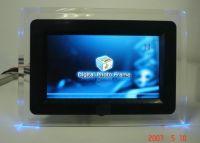 7 Inch Digital Photo Frame with LED Light