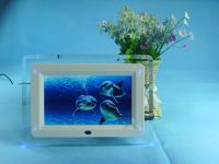 7 Inch Digital Photo Frame with LED Light