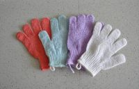 exfoliating bath glove