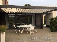 Aluminium Fixed Sunshade Louver Roof Cover