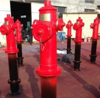 Outdoor fire hydrant