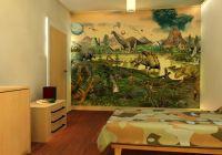 Wall-tastic Dinosaur children's wallpaper mural