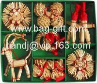 Wheat Straw Christmas Decorations