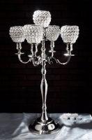 crystal ball candelabra
