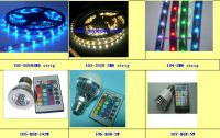 LED Flexible Strip Light & RGB Bulb