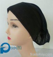 Muslim chemo underscarf hair loss cap turban bonnet hijab abaya