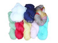 sweater yarn and sock yarn