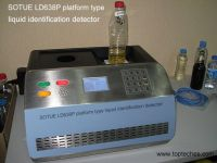 Platform type dangerous liquid detector, flammable and explosive liquid detector