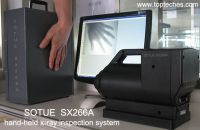 Medical X-Ray and baggage scanner, hand-held baggage scanner parcel inspection system