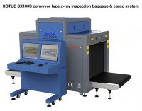 ModelSX100S Big tunnel type x-ray screening system, cargo x-ray scanner, luggage x-ray machine, cargo scanner