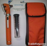 fiber optic otoscope mini plastic body pocket OT-019