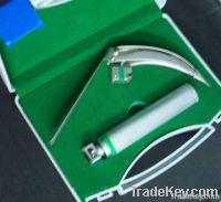 Laryngoscope fiber optic McCoy set (Flexible tip) also LED