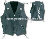 Leather Vest Men