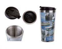16OZ Snack Plastic Mug , travel mug , stainless steel .cup , tumbler
