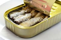 Sardine Can from Morocco , Canned Fish