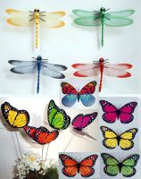 Artificial Butterfly and insects, Home & Garden decor