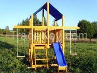 Wooden Ecologic Playground