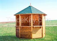 Wood Booth, Kiosk