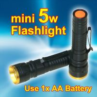 Mini LED Flashlights (5W)