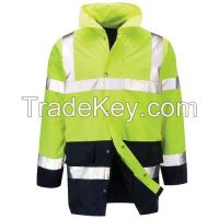 Safety Clothes Two Tone High Visibility Traffic Jacket