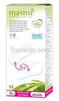 Organic Cotton Adaptable Flex Pantyliners