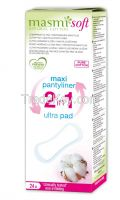 Natural Cotton 2 in 1 Maxi Plus / Ultra Day Sanitary Pads SOFT