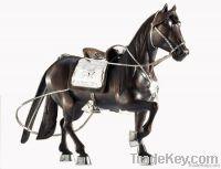 Sculpted horse